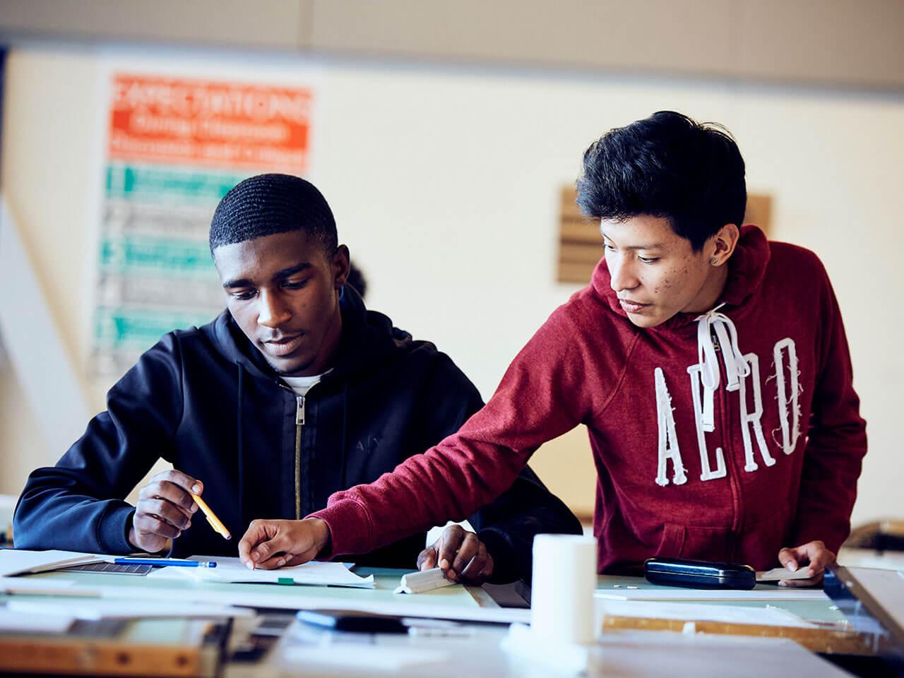Baltimore Design School - Architecture Students
